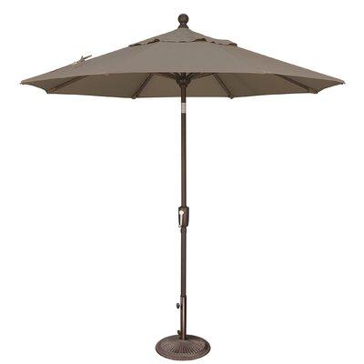 7.5 Catalina Market Umbrella Fabric: Solefin / Taupe
