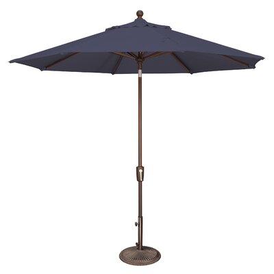 9 Catalina Market Umbrella Fabric: Sunbrella / Navy