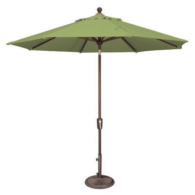 9 Catalina Market Umbrella Fabric: Sunbrella / Ginkgo