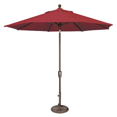 9 Catalina Market Umbrella Fabric: Solefin / Really Red