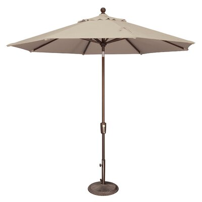 9 Catalina Market Umbrella Fabric: Solefin / Beige
