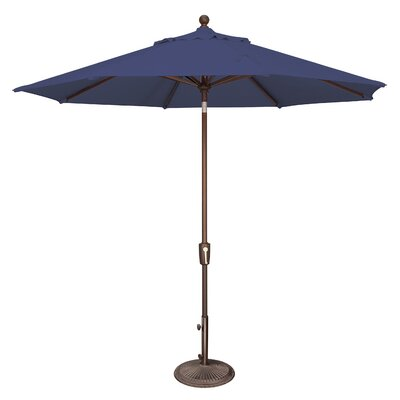 9 Catalina Market Umbrella Fabric: Solefin / Sky Blue