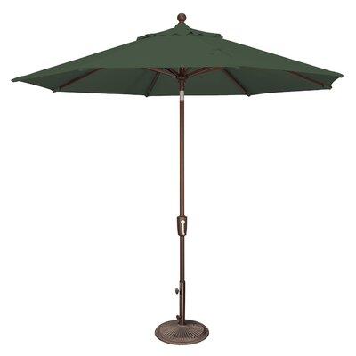 9 Catalina Market Umbrella Fabric: Solefin / Forest Green