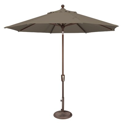 9 Catalina Market Umbrella Fabric: Solefin / Taupe
