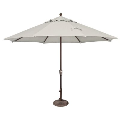 11 Catalina Market Umbrella Fabric: Sunbrella / Natural