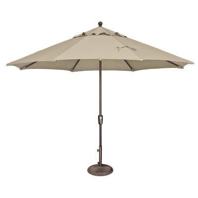 11 Catalina Market Umbrella Fabric: Sunbrella / Antique Beige