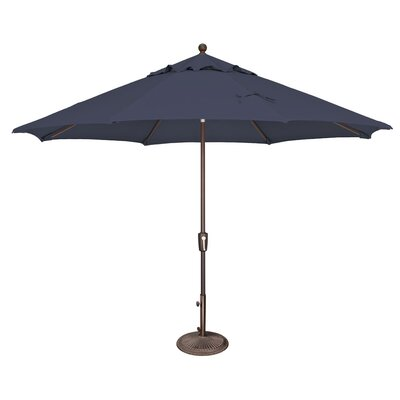 11 Catalina Market Umbrella Fabric: Sunbrella / Navy