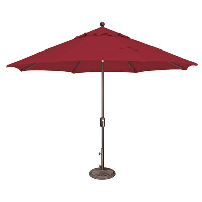 11 Catalina Market Umbrella Fabric: Solefin / Really Red