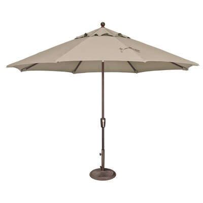 11 Catalina Market Umbrella Fabric: Solefin / Beige