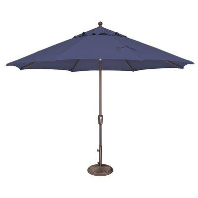 11 Catalina Market Umbrella Fabric: Solefin / Sky Blue
