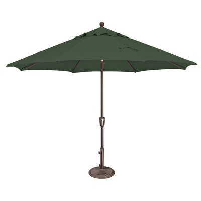 11 Catalina Market Umbrella Fabric: Solefin / Forest Green