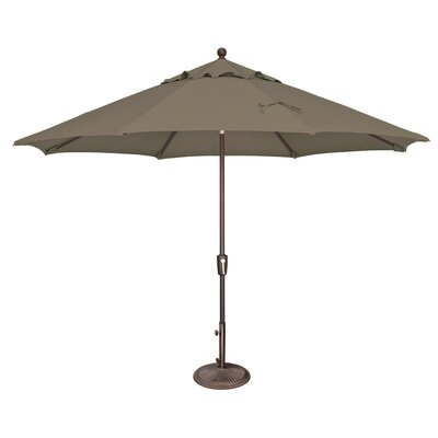11 Catalina Market Umbrella Fabric: Solefin / Taupe