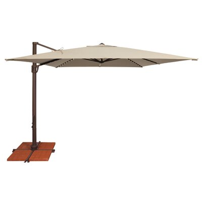Bali 11.5' X 10' Rectangular Cantilever Umbrella SSAD45SL-10SQ00-D2406
