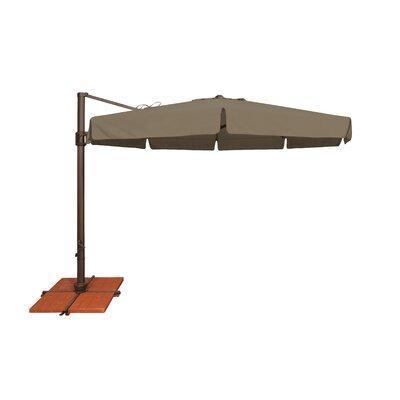 11 Bali Cantilever Umbrella Fabric: Solefin / Taupe