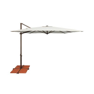 8.6 Skye Square Cantilever Umbrella Fabric: Sunbrella / Natural