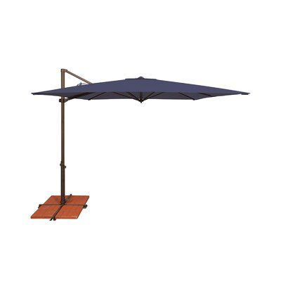 8.6 Skye Square Cantilever Umbrella Fabric: Sunbrella / Navy