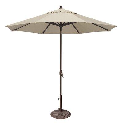 SimplyShade Lanai Patio Umbrella in Antique Beige SSUM81-0900-A5422