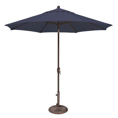 9 Lanai Market Umbrella Fabric: Sunbrella / Navy