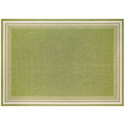 Garden Cottage Lime Outdoor Area Rug Rug Size: 710 x 10