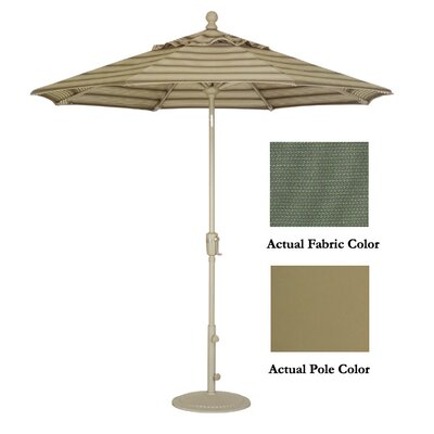 9 Market Umbrella Color: Champagne/Stone Green