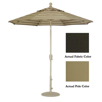 9' Market Umbrella Color: Champagne/Walnut UM9101-2470