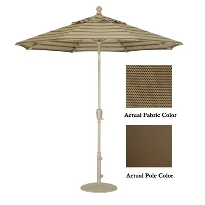 9 Market Umbrella Color: Bronze/Toffee