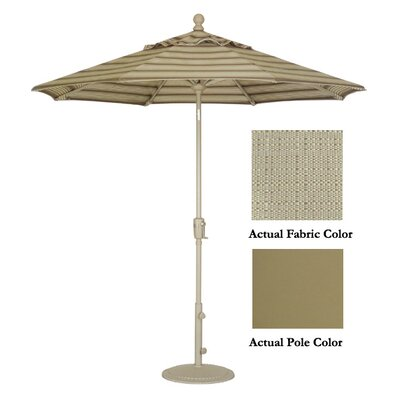 9 Market Umbrella Color: Champagne/Champagne Linen