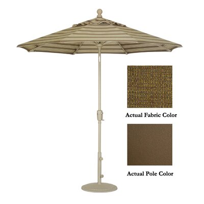 Whiting 9' Market Umbrella Color: Bronze/Sesame Linen ROHE7802 44422975