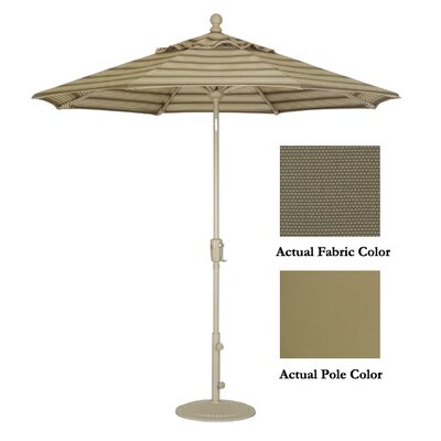 9 Market Umbrella Color: Champagne/Taupe