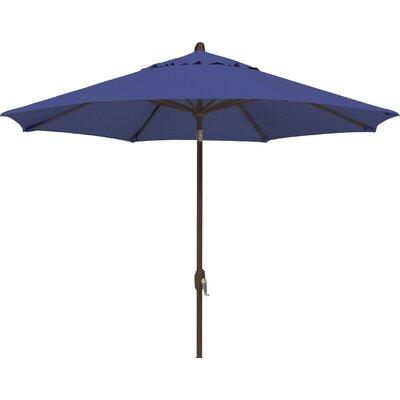 9 Lanai Market Umbrella Fabric: Solefin / Sky Blue