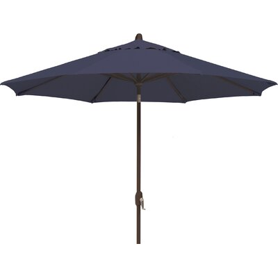 9 Lanai Market Umbrella Fabric: Sunbrella / Navy