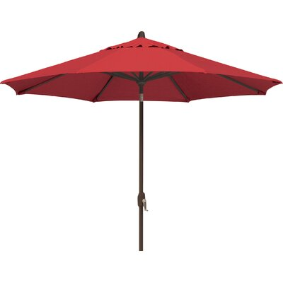 9 Lanai Market Umbrella Fabric: Sunbrella / Jockey Red
