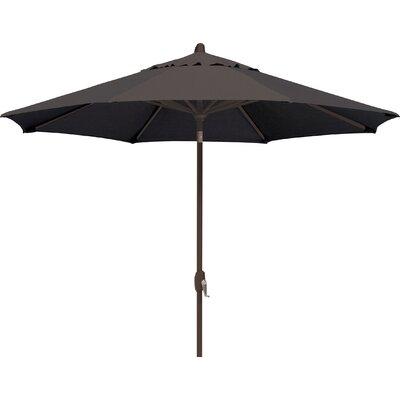 9 Lanai Market Umbrella Fabric: Sunbrella / Black