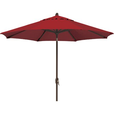 9 Lanai Market Umbrella Fabric: Solefin / Really Red