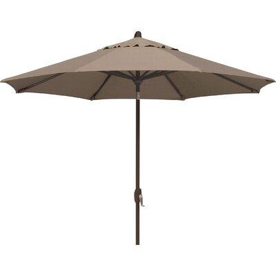Lanai 9' Market Umbrella Fabric: Sunbrella / Cocoa SSUM81-0900-A5425