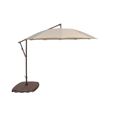 10 Cantilever Umbrella Fabric Color: Antique Beige