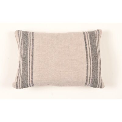 Farmhouse Grainsack Linen Lumbar Pillow
