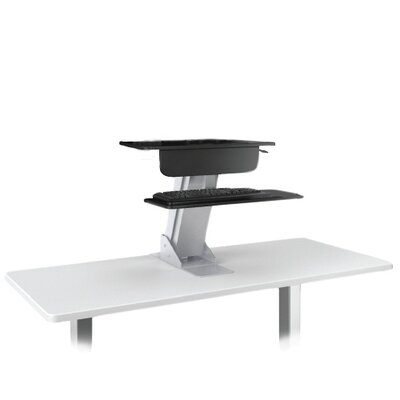 Technology Solutions 22 H x 27 W Standing Desk Conversion Unit
