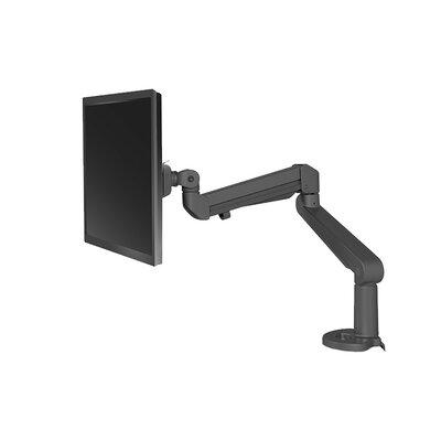 Edge Height Adjustable Desk Mount Finish: Black