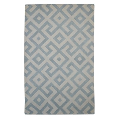 Modern Marvel Hand-Tufted Devin Gray/Ivory Area Rug Size: 6 x 6