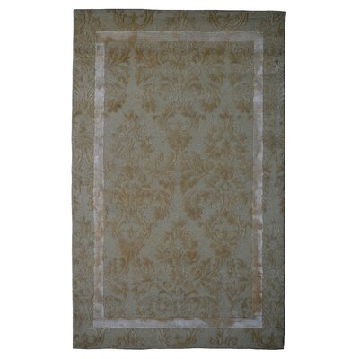 Wool Hand-Tufted Ivory/Beige Area Rug Rug Size: Rectangle 6 x 6