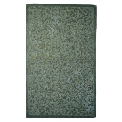Wool Hand-Tufted Green Area Rug Rug Size: Rectangle 5 x 8