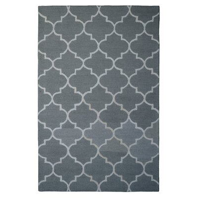 Wool Hand-Tufted Beige/Ivory Area Rug Rug Size: 6 x 6