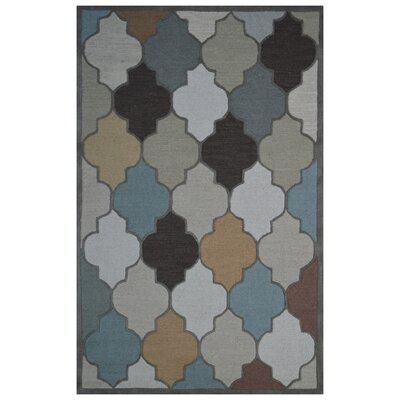 Wool Hand-Tufted Ivory/Beige Area Rug Rug Size: 6 x 6