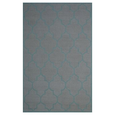 Wool Hand-Tufted Black Area Rug Rug Size: 5 x 8