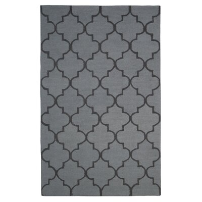 Wool Hand-Tufted Rust/Brown Area Rug Rug Size: 5 x 8
