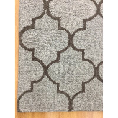 Wool Hand-Tufted Rust/Brown Area Rug