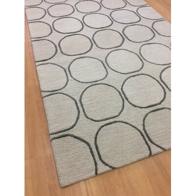 Wool Hand-Tufted Beige/Green Area Rug