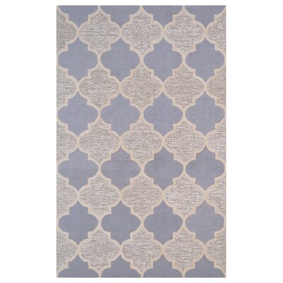 Wool Hand-Tufted Brown/Gray Area Rug Rug Size: 5 x 8