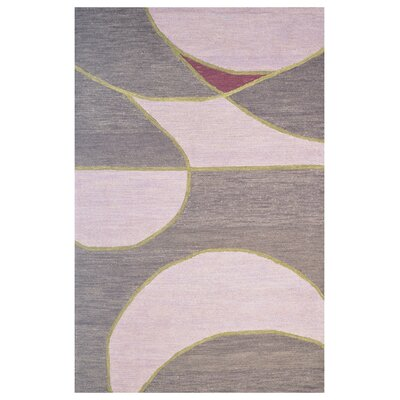 Wool Hand-Tufted Rust/Brown Area Rug Rug Size: 6 x 6